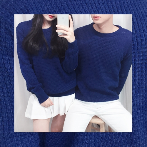 WAFFLE KNIT (4color)
