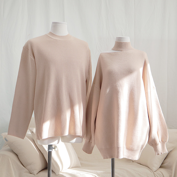 Unbal Off-shoulder Similar (beige) #842